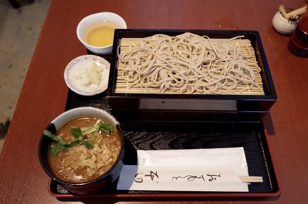 カレーつけ蕎麦【冷】(1000円)+大盛り(220円)