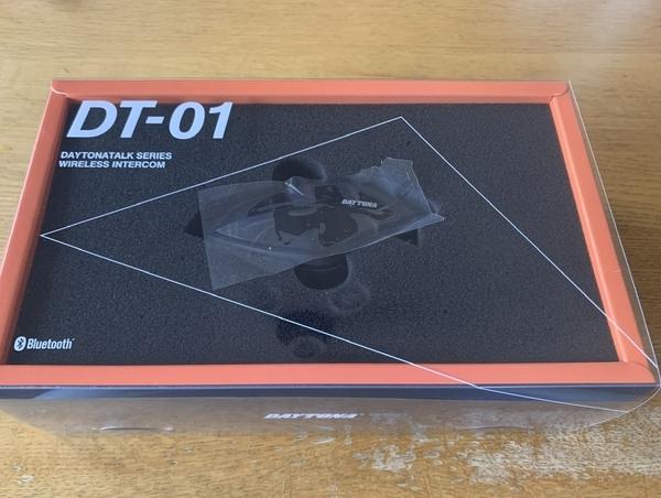 DT-01届く