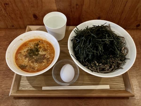 スタミナ坦々冷そば(900円)+大盛(100円)