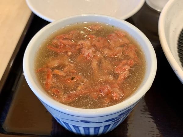 紅生姜天蕎麦湯