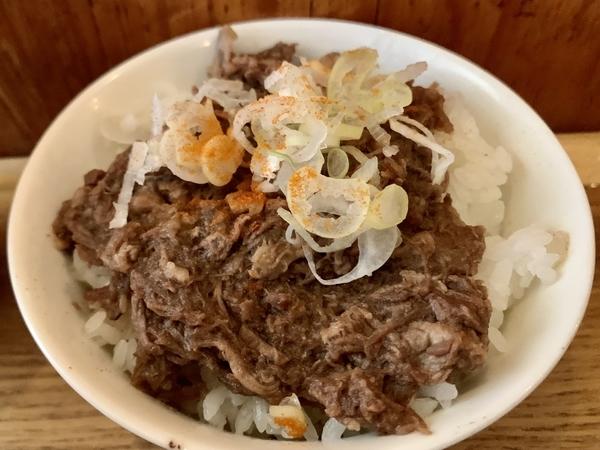 牛スジごはん(250円)
