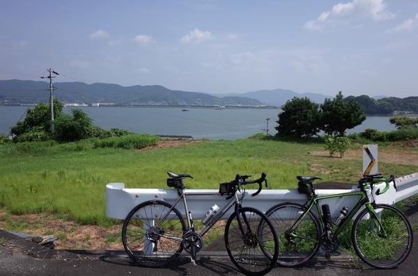 奥浜名湖とチャリ2台