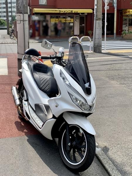 ラーメン二郎品川店とPCX150