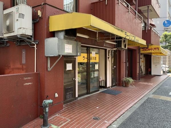 行列が途切れたラーメン二郎品川店