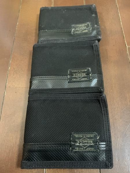 過去三代の財布