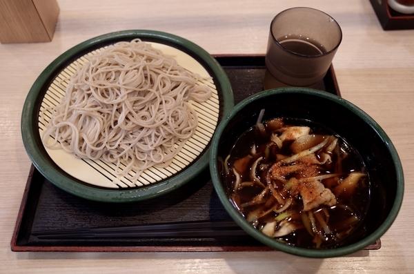 肉舞茸せいろ【冷麺温汁】+大盛り(100円)