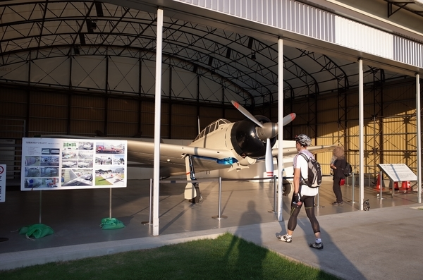 零式艦上戦闘機二一型実物大模型