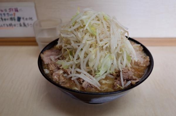 みそラーメン(800円)+自動ヤサイ