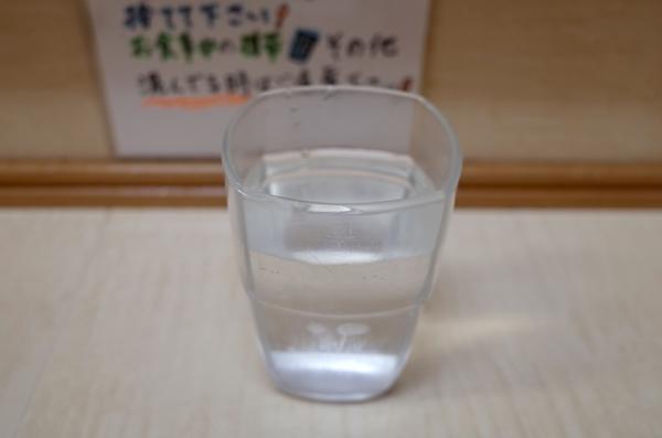 四角いグラス