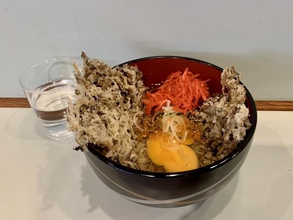 舞茸天玉そば(510円)