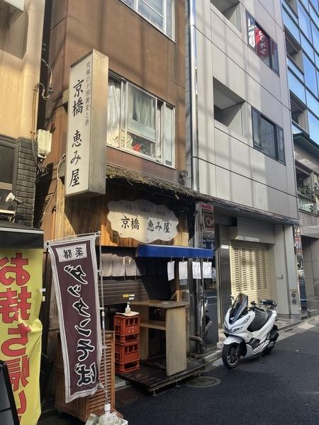 京橋恵み屋と PCX150