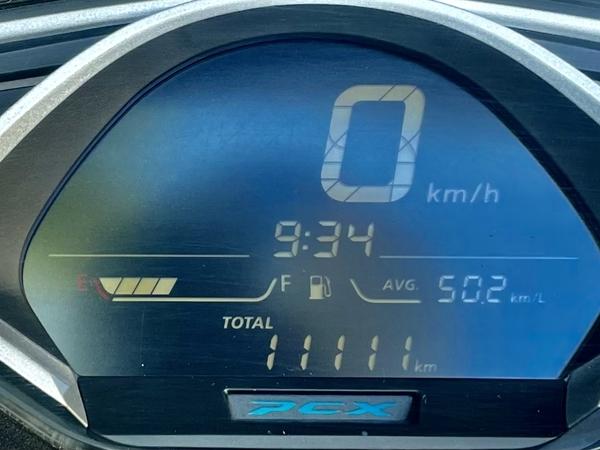 11月11日に走行メーター11111km