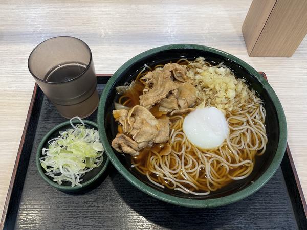 元気玉そば(560円)