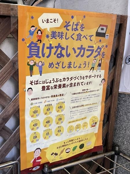 蕎麦促進ポスター