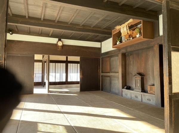 旧増田家住宅内