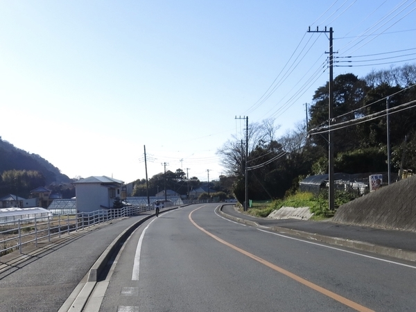 大山千枚田入口を通り過ぎる