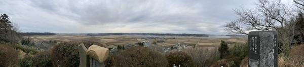 密蔵院からの眺めパノラマ