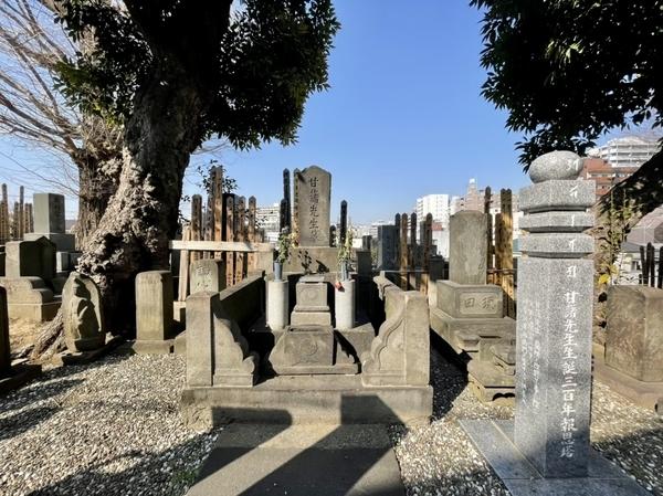 青木昆陽墓所