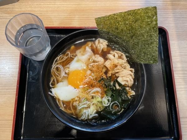 肉富士そば(530円)