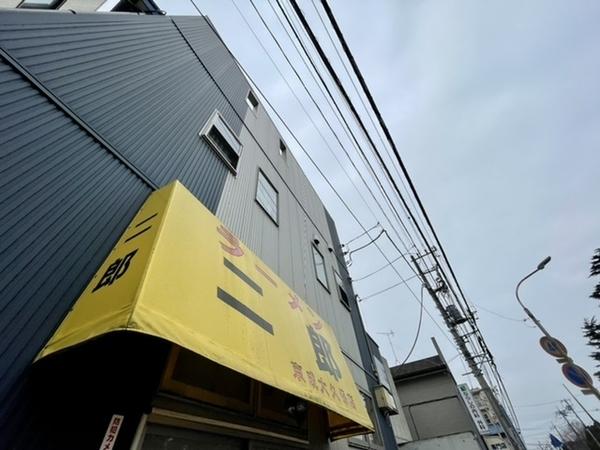 長期連休明け最初の土曜営業のラーメン二郎京成大久保店