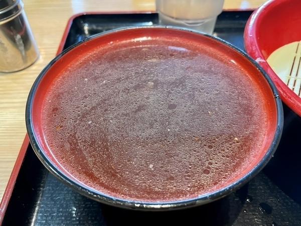鴨汁蕎麦湯