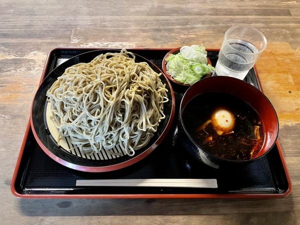 ダッタン蕎麦【大盛500g】(650円)+麻辣汁(150円)