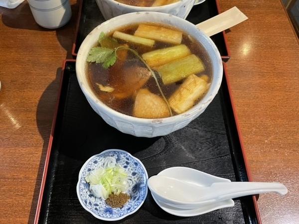 鴨南蛮そば(1680円+税)
