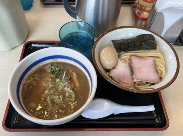 特製つけ麺【バラ2枚ロース1枚】