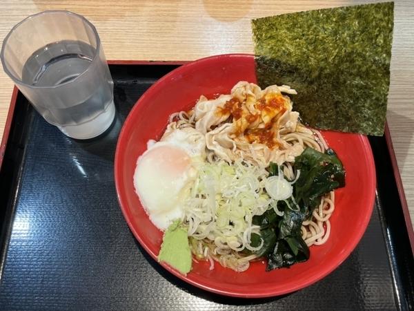 肉富士そば【冷】(530円)