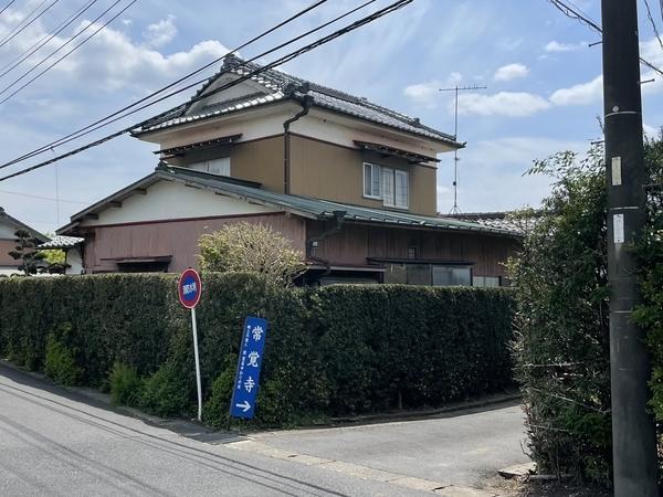 常覚寺の道標