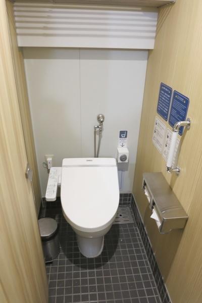 さるびあ丸のトイレ