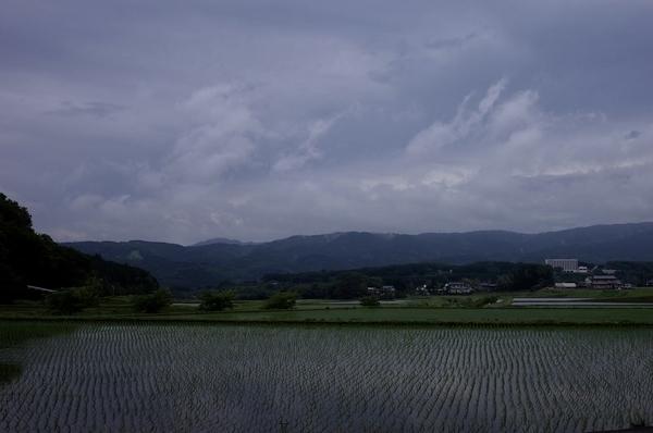 小山町の田園風景