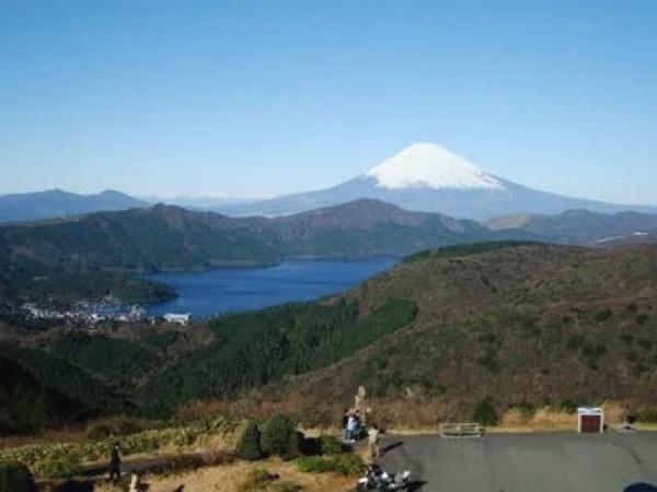 晴れている日のアネスト岩田スカイラウンジからの景色