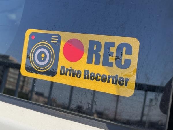 Drive Recorder RECステッカー