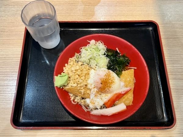 冷し特選富士そば(470円)