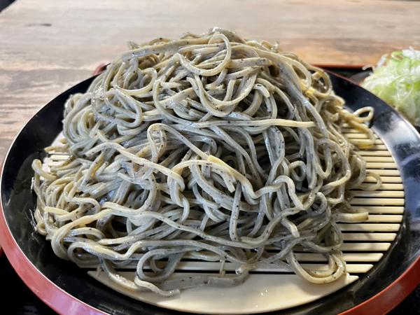 並盛の黒胡麻ダッタン蕎麦