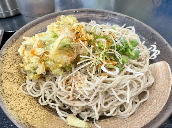 ホタパラ蕎麦【冷】