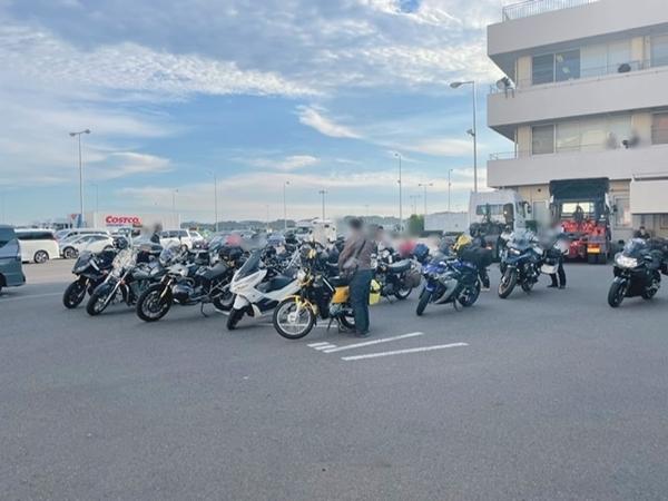大洗港バイク集合場所