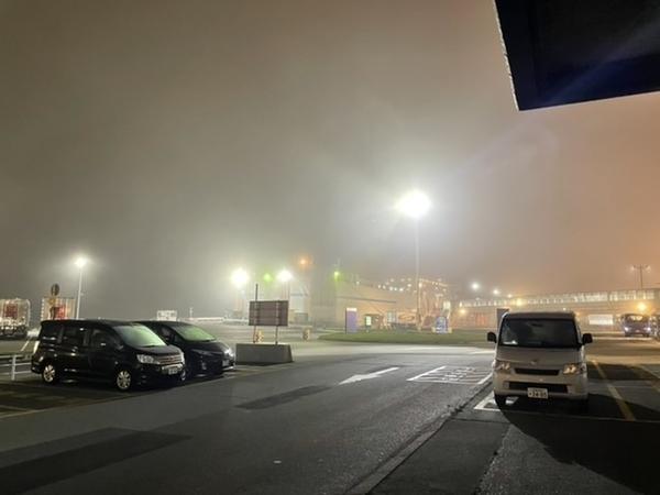 霧の苫小牧