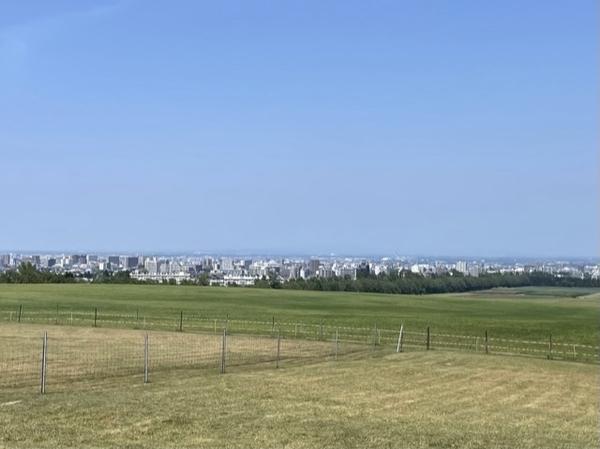 羊ヶ丘展望台からの絶景