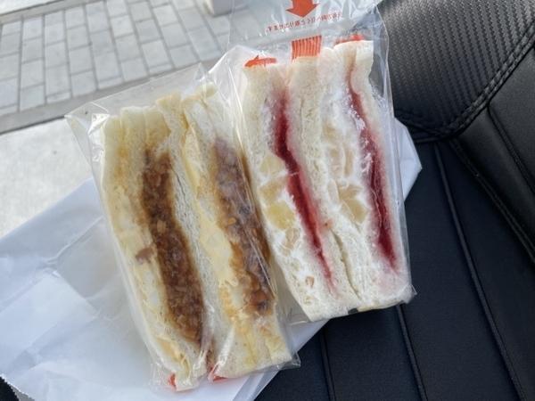 購入したサンドイッチ