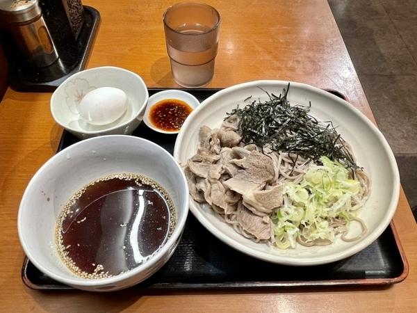 肉蕎麦つけ麺(780円)