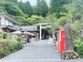 御岩神社にトウチャコ