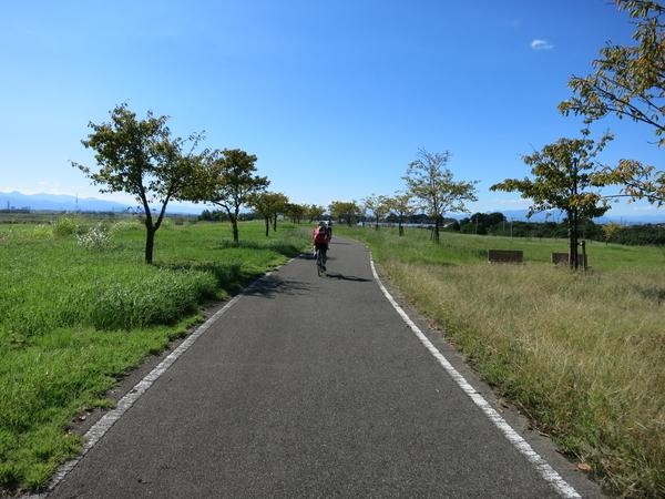 利根川自転車道に戻る