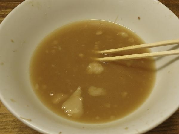 アブラの浮くスープ
