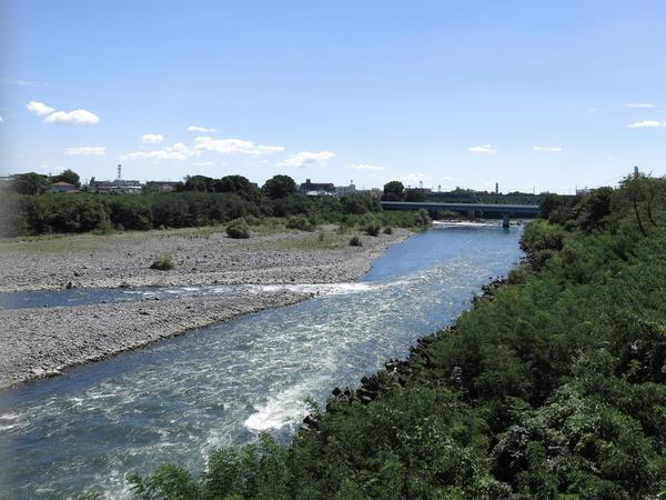 坂東大橋からみた利根川