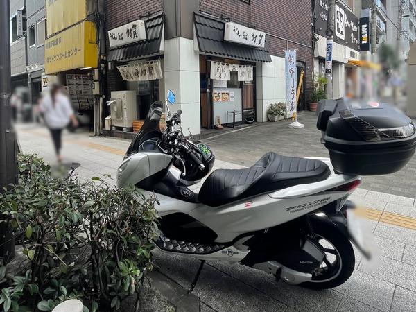 うどんそば加賀とPCX150