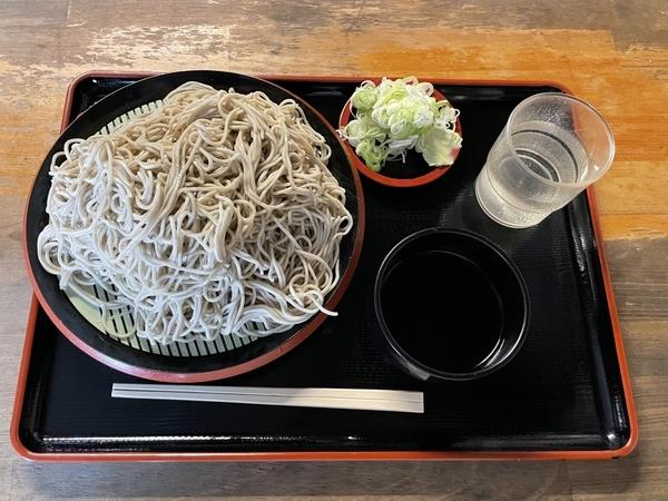 地粉切り(国産十割)【大盛500g】(800円)+鯖出汁変更(0円)