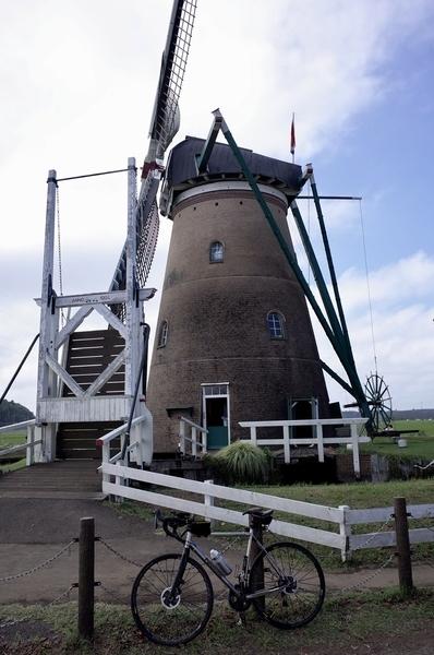 オランダ風車とパナチタンFRTD03