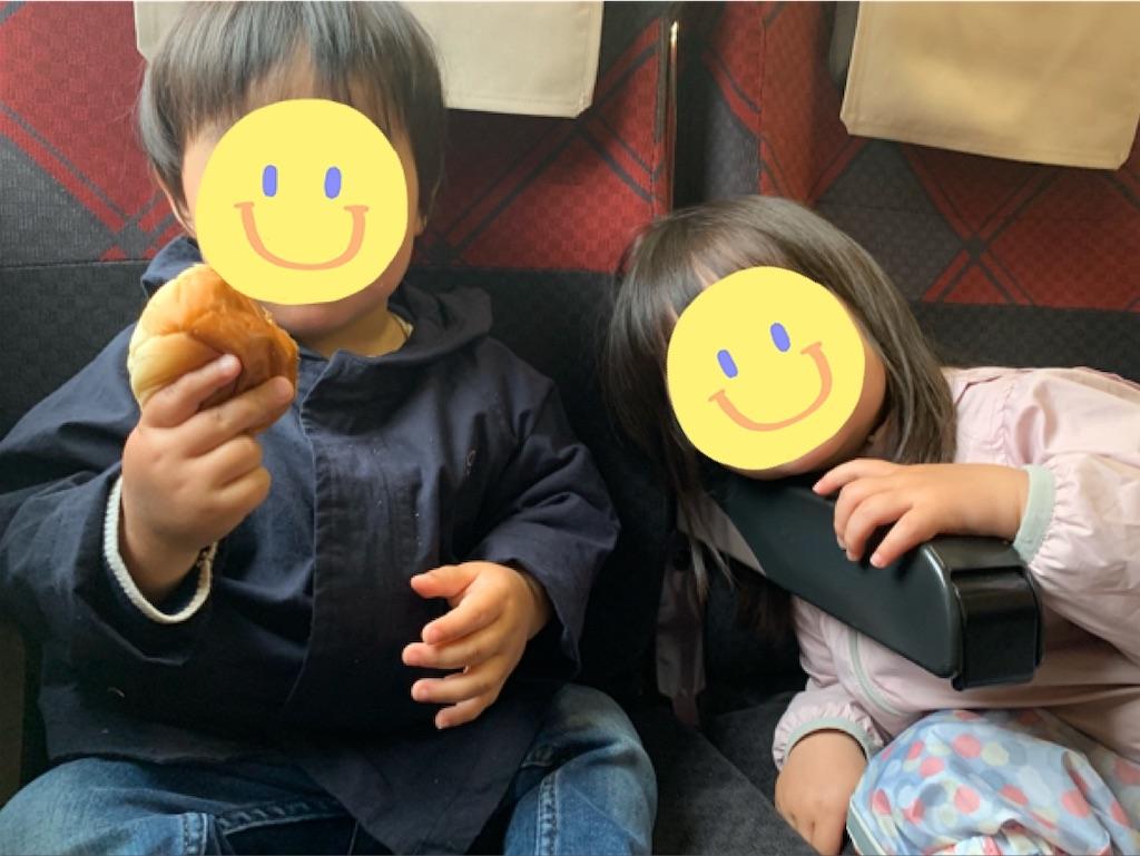 子連れ新幹線レポート①前半はおやつで乗り切る